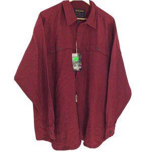 NEW Woolrich John Rich & Bros. Herringbone collar